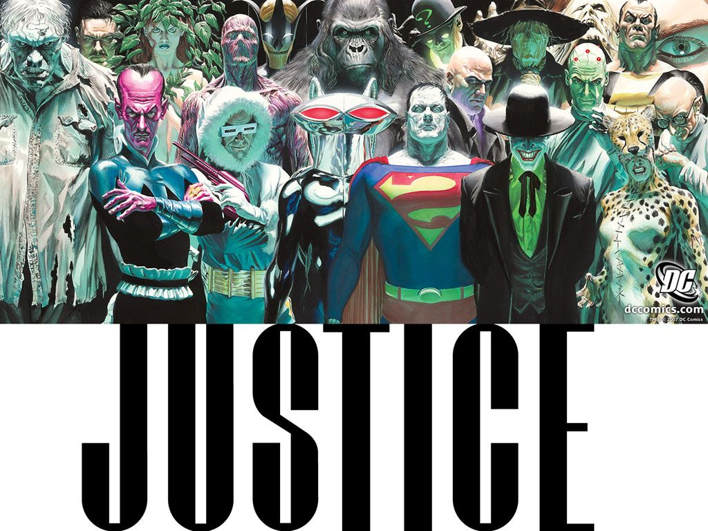 Comics Wallpaper: Justice- Villains