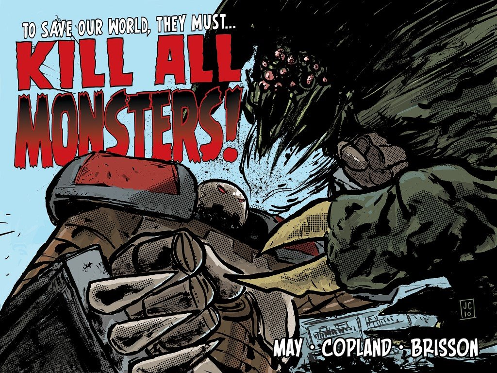 Papel de Parede Gratuito de Quadrinhos : Kill All Monsters