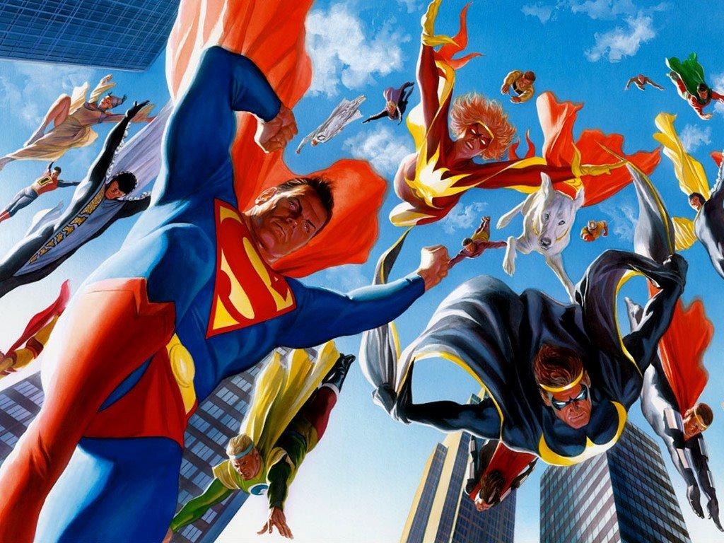 Comics Wallpaper: Kryptonians
