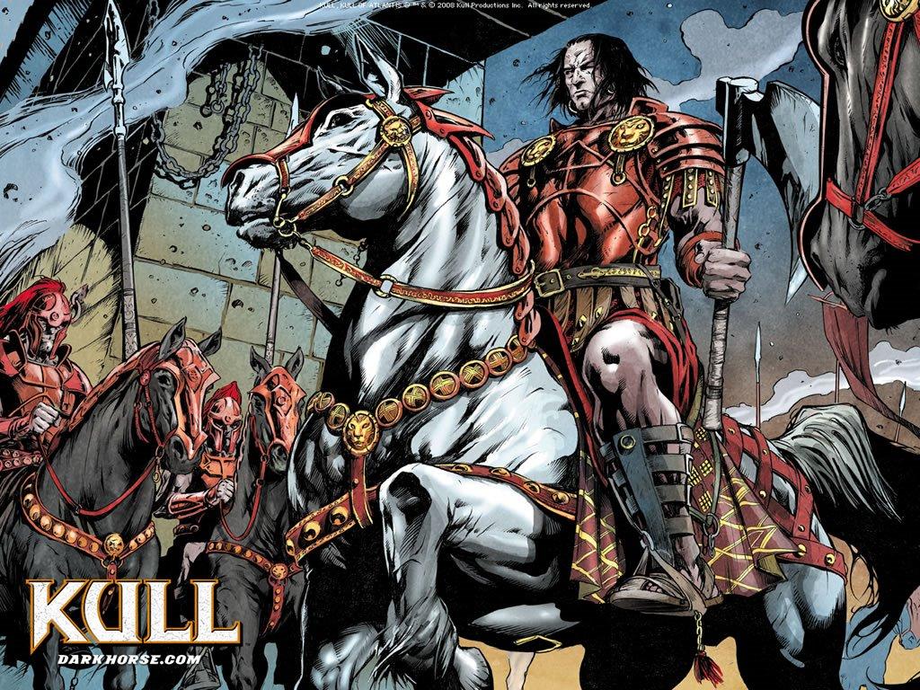 Comics Wallpaper: Kull