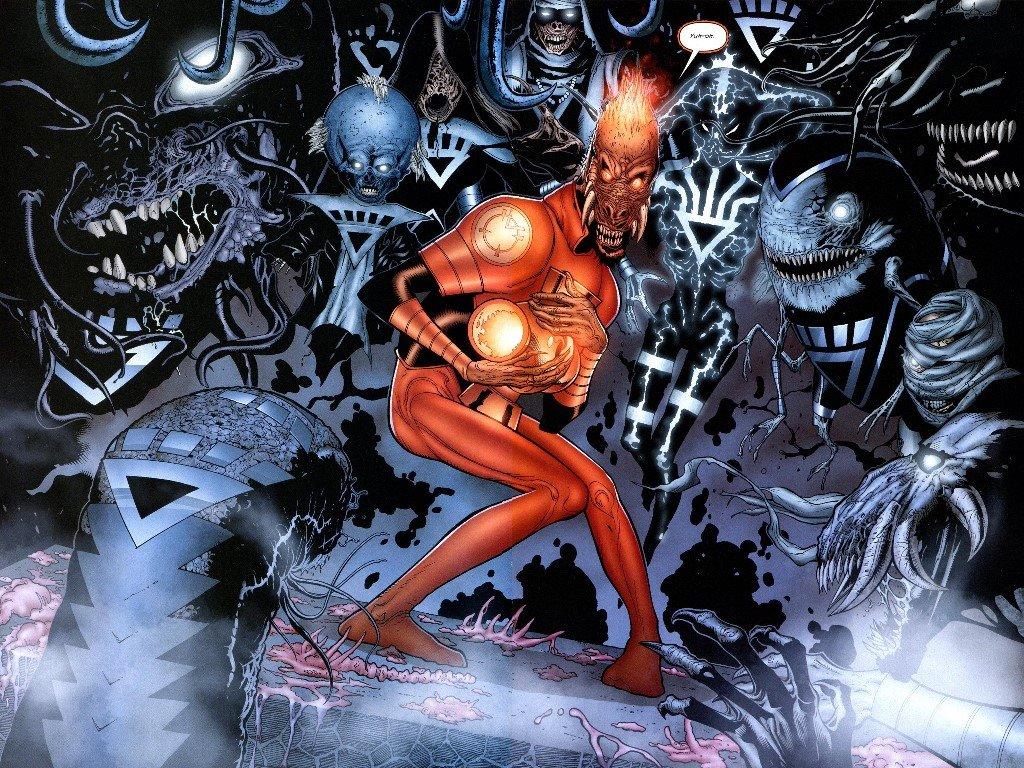 Comics Wallpaper: Larfleeze - Agent Orange