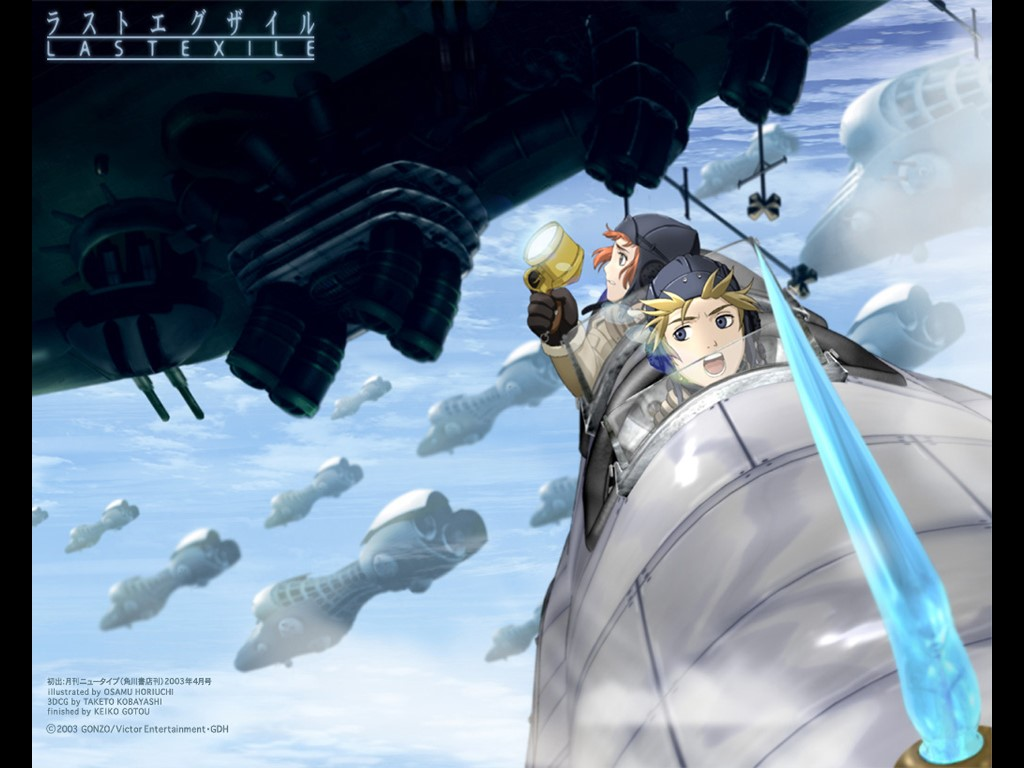Comics Wallpaper: Last Exile