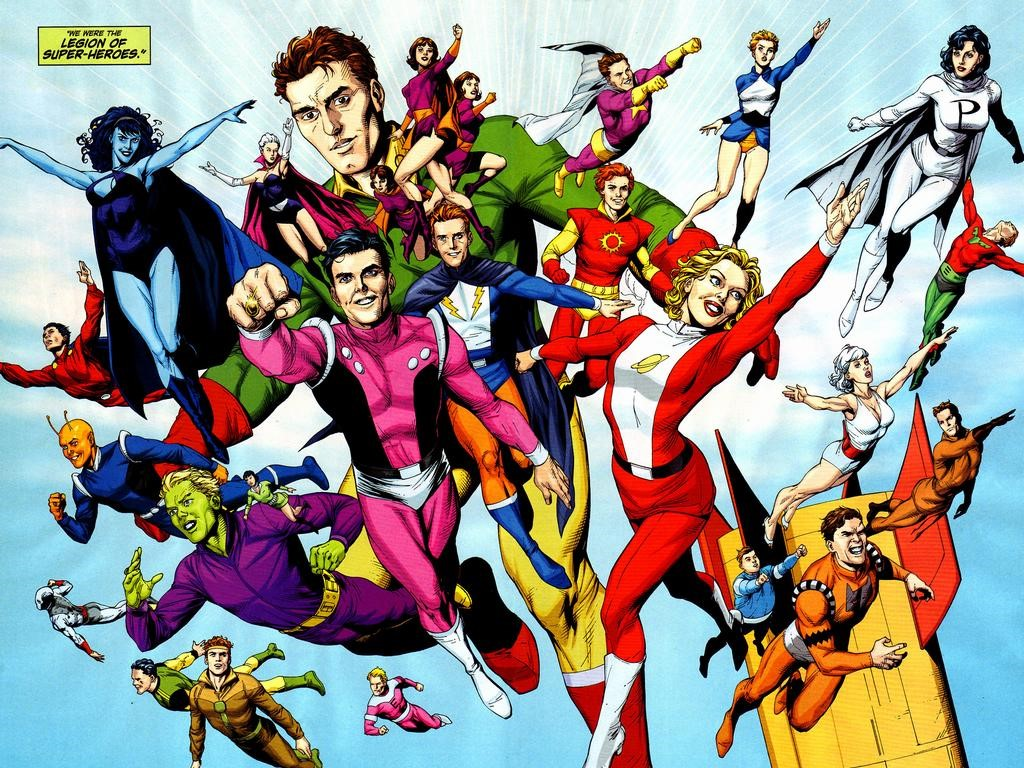 Comics Wallpaper: Legion of Super-Heroes