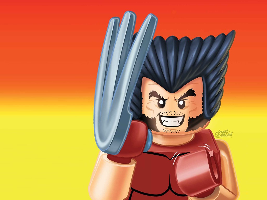 Comics Wallpaper: Wolverine - Lego