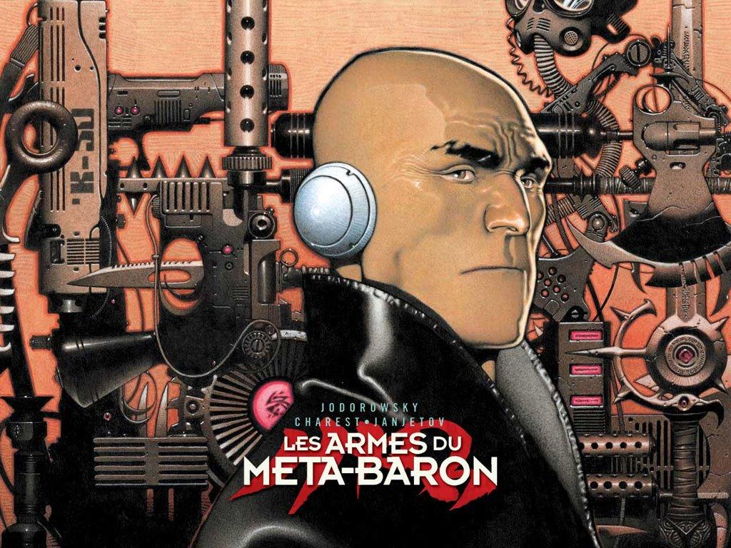 Comics Wallpaper: The Saga of The Meta-Barons
