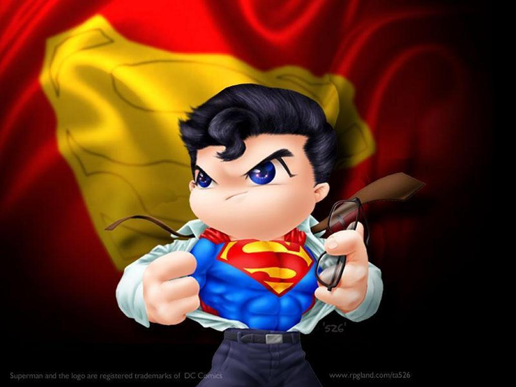 Comics Wallpaper: Little Superman