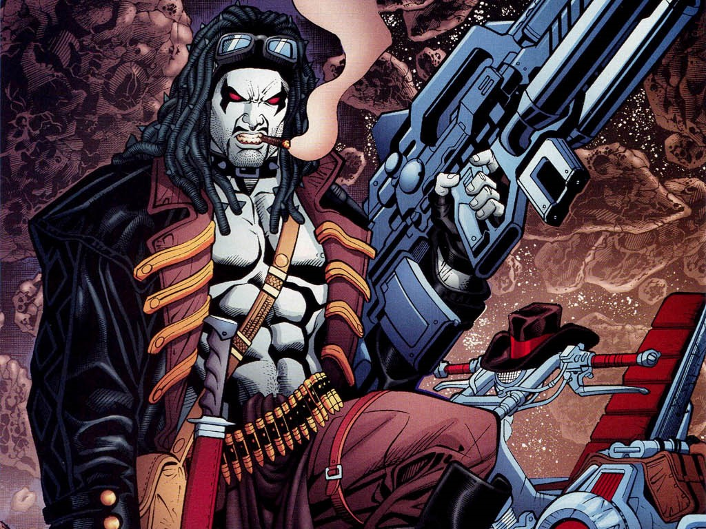 Comics Wallpaper: Lobo