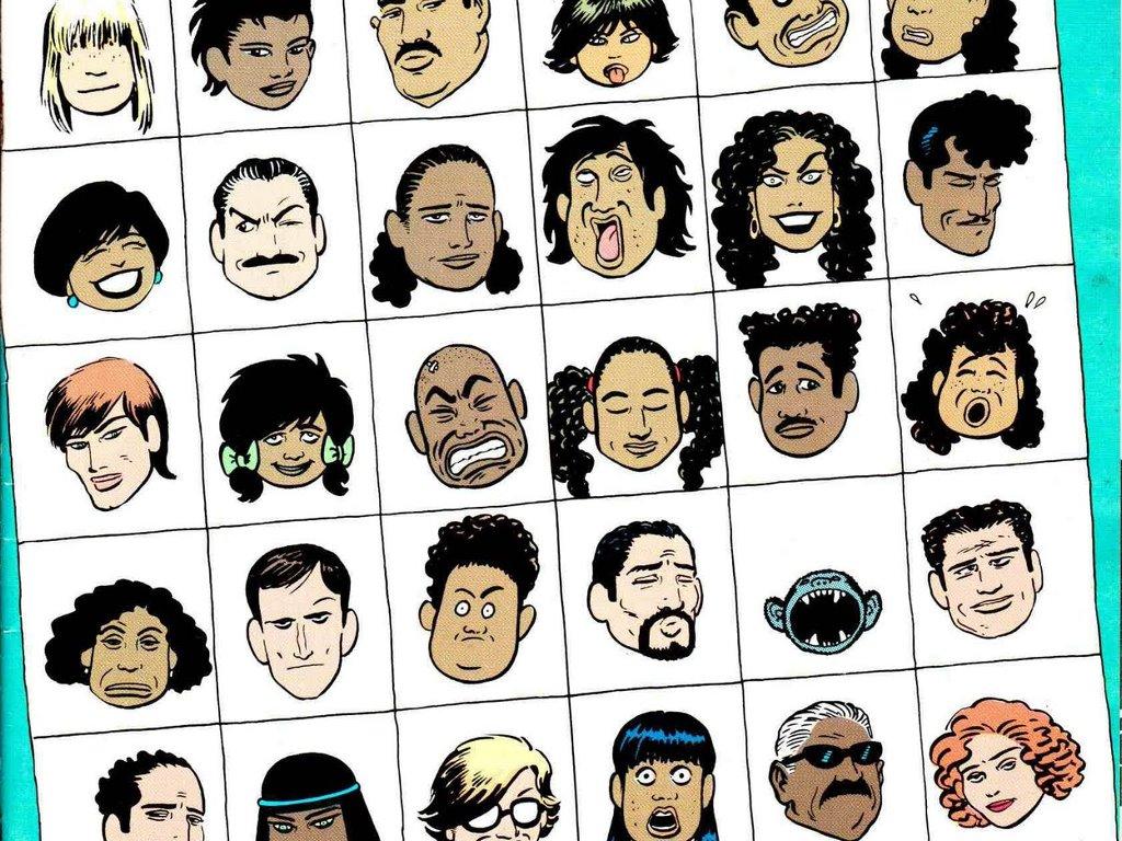 Comics Wallpaper: Love and Rockets