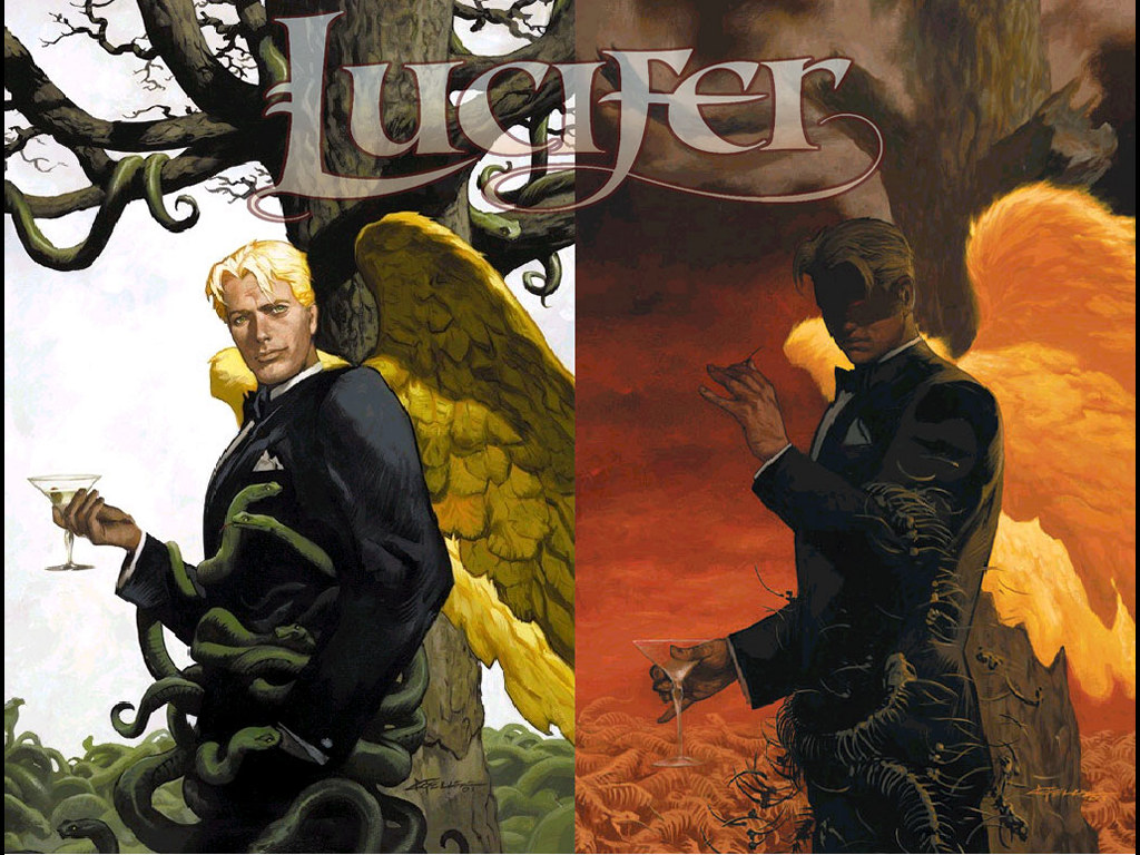 Comics Wallpaper: Lucifer