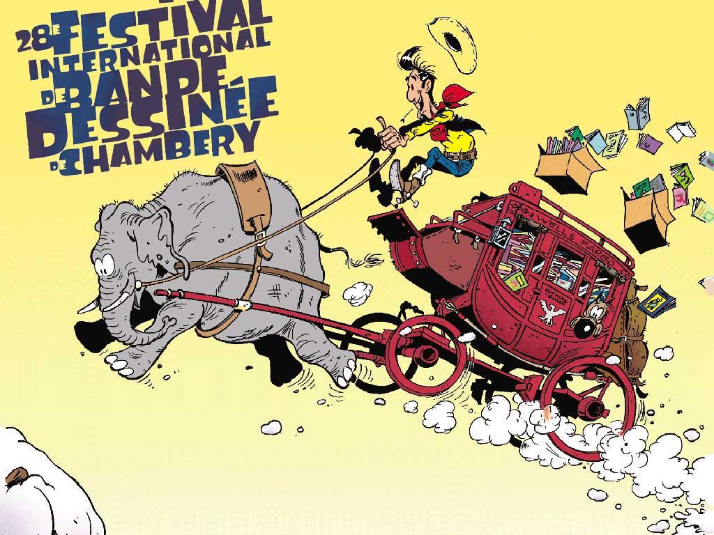 Comics Wallpaper: Lucky Luke