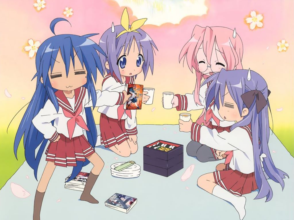 Comics Wallpaper: Lucky Star
