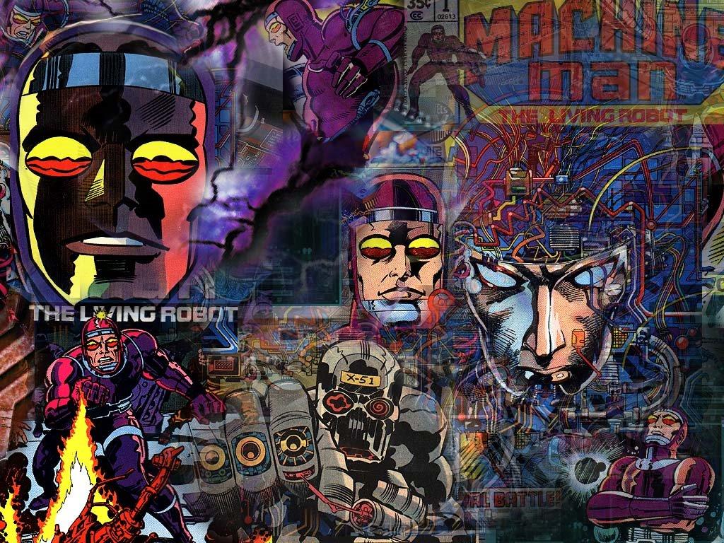 Comics Wallpaper: Machine Man