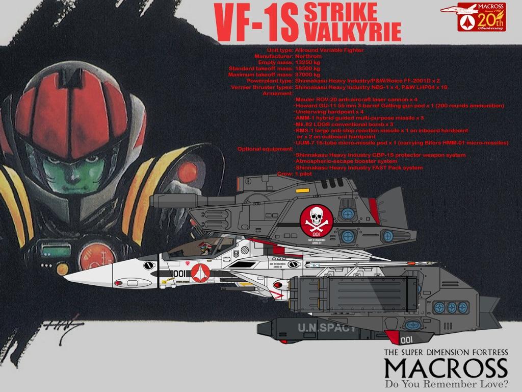 Comics Wallpaper: Macross - Stryke Valkyrie