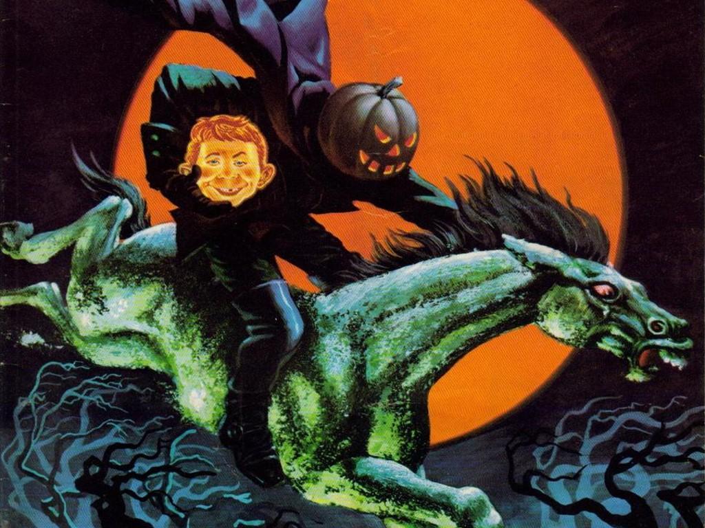 Comics Wallpaper: Mad - Halloween
