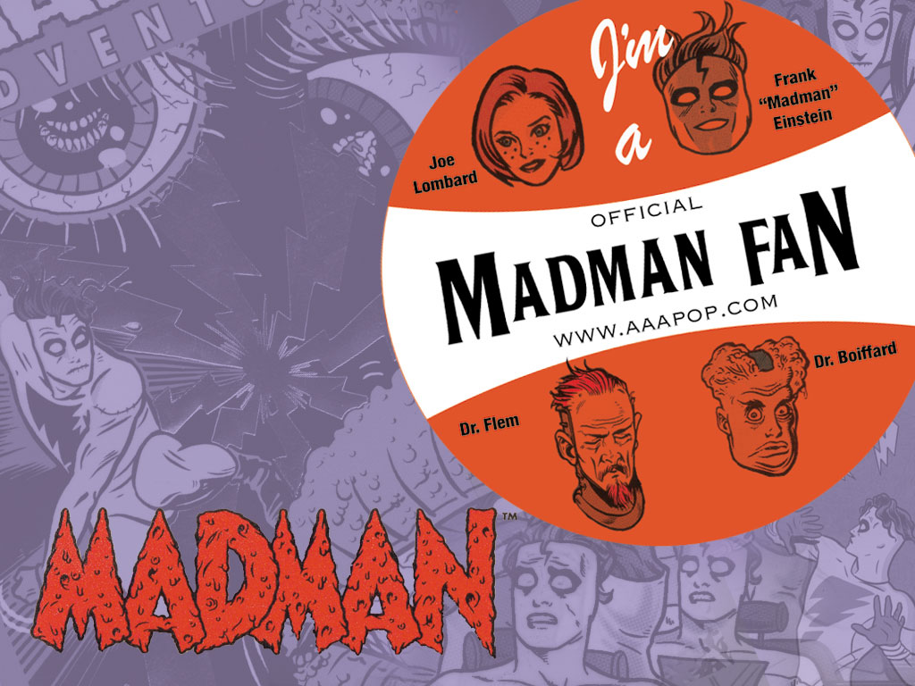 Comics Wallpaper: Madman