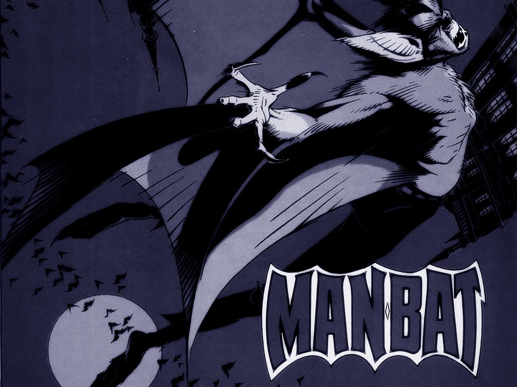 Comics Wallpaper: Man-Bat