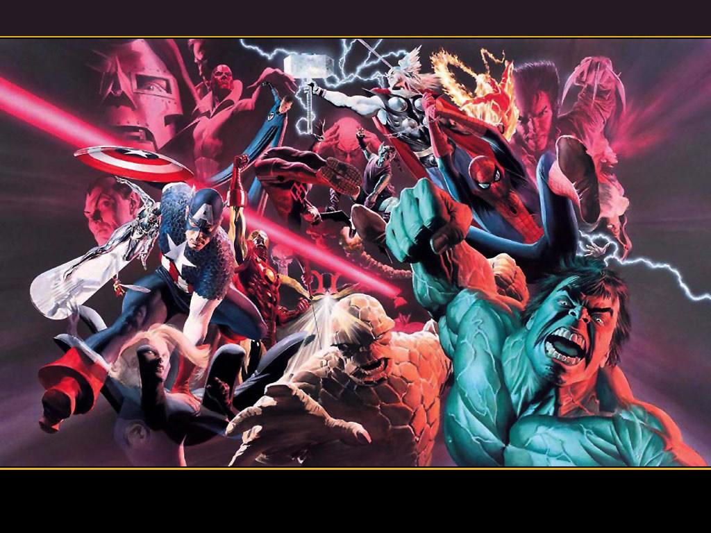 Comics Wallpaper: Marvel Heroes
