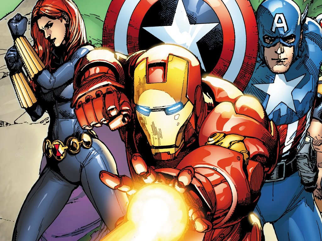 Comics Wallpaper: Marvel Heroes