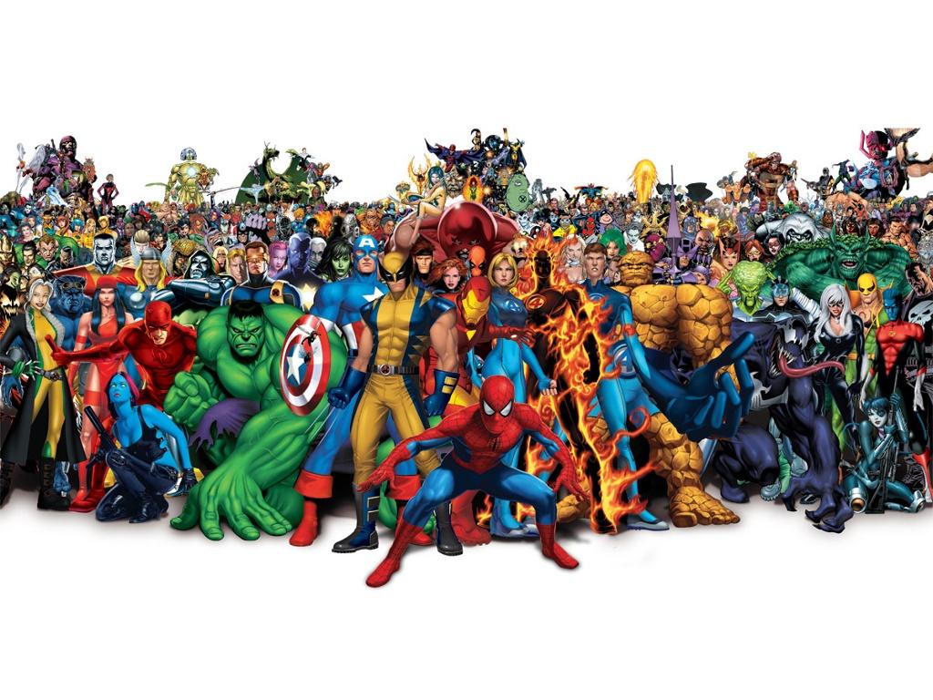Comics Wallpaper: Marvel Universe