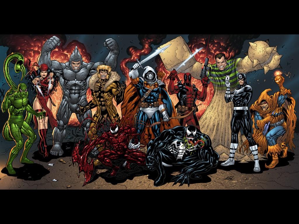 Comics Wallpaper: Marvel - Villains