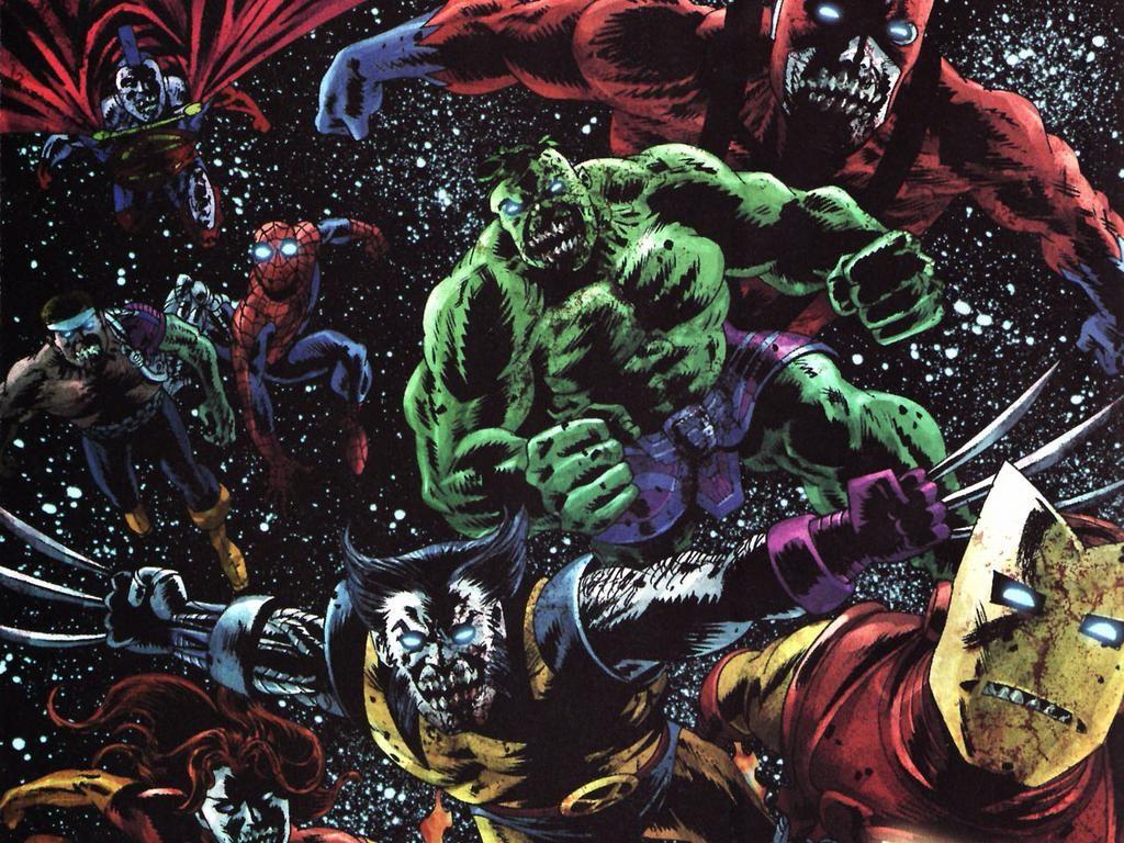 Comics Wallpaper: Marvel Zombies