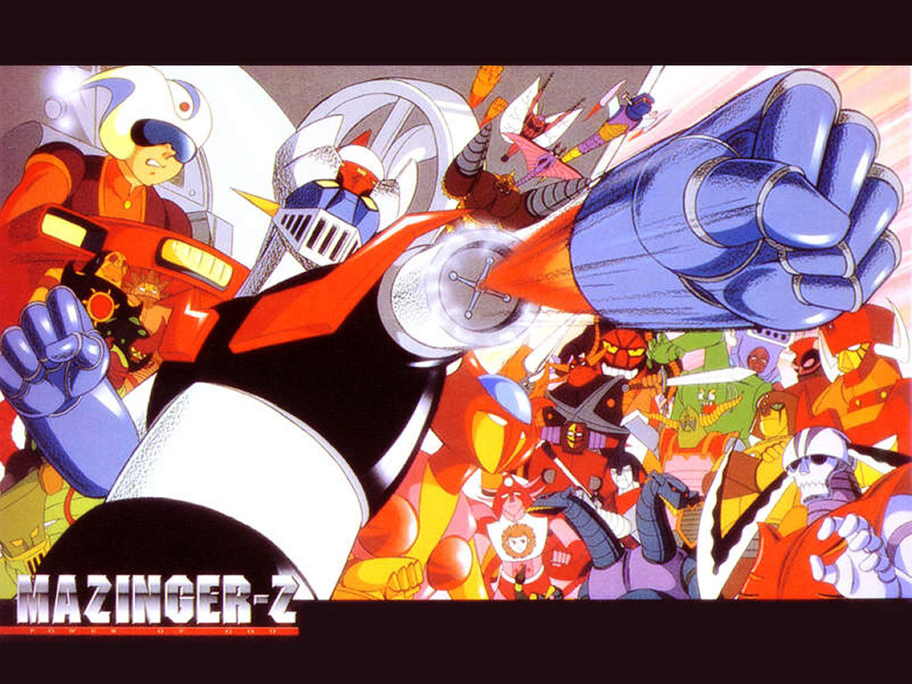 Comics Wallpaper: Mazinger Z