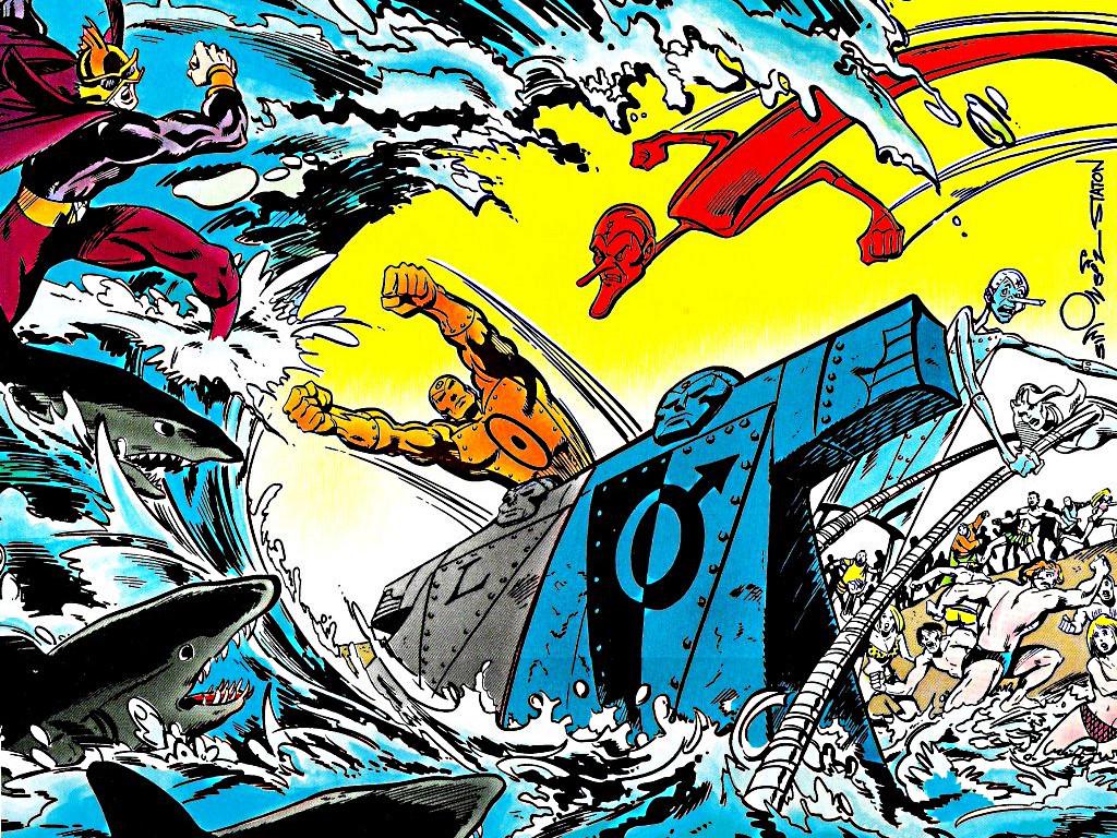 Comics Wallpaper: Metal Men