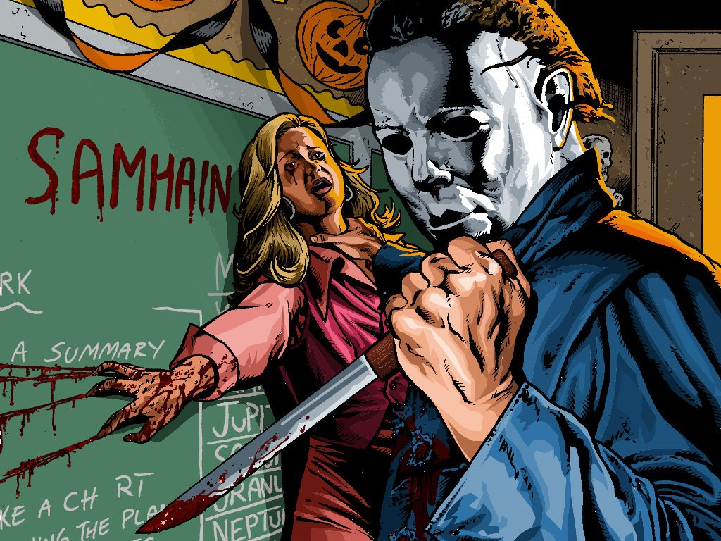 Comics Wallpaper: Michael Myers