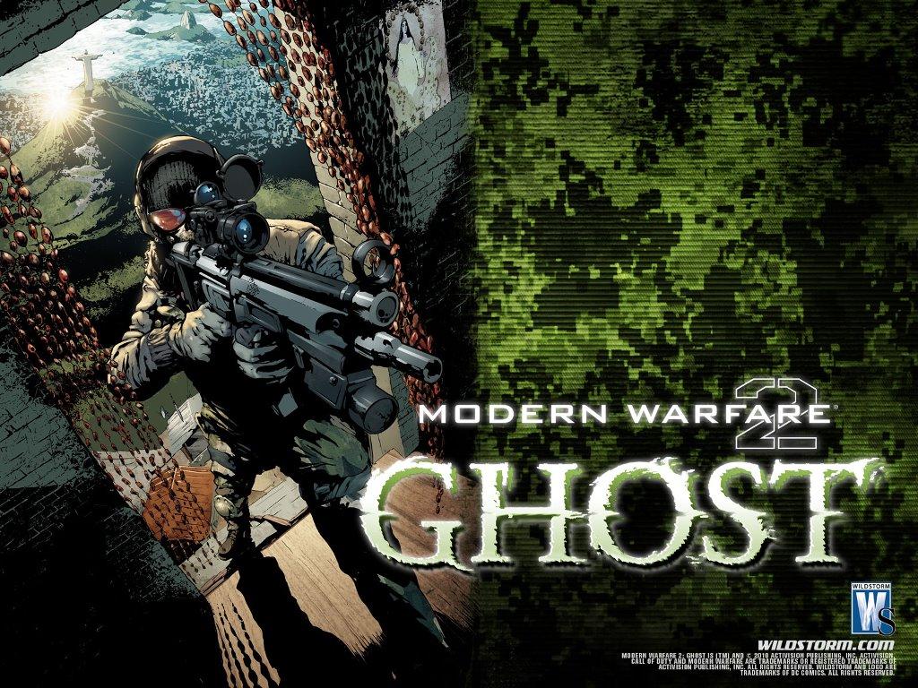 Comics Wallpaper: Modern Warfare 2 - Ghost