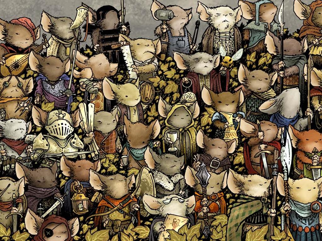 Comics Wallpaper: Mouse Guard