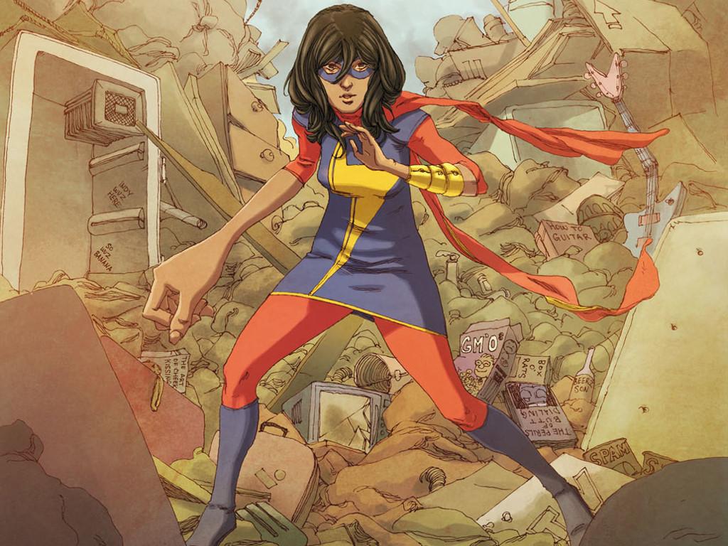 Comics Wallpaper: Ms. Marvel (Kamala Khan)