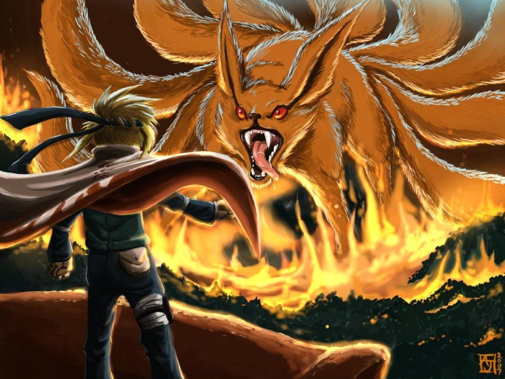 Comics Wallpaper: Naruto - Nine Tailed Demon Fox