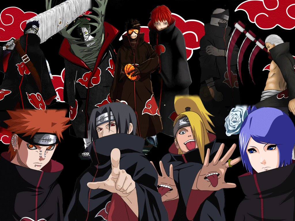 Comics Wallpaper: Naruto - Akatsuki