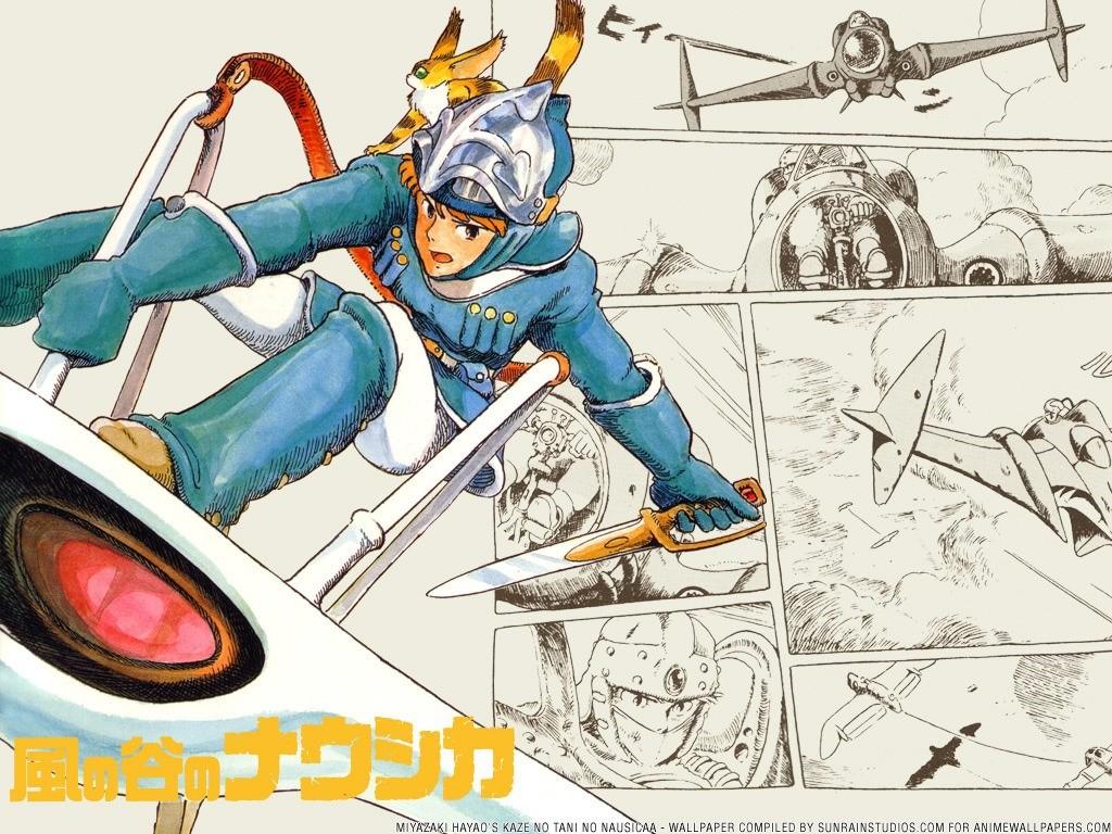 Comics Wallpaper: Nausicaa