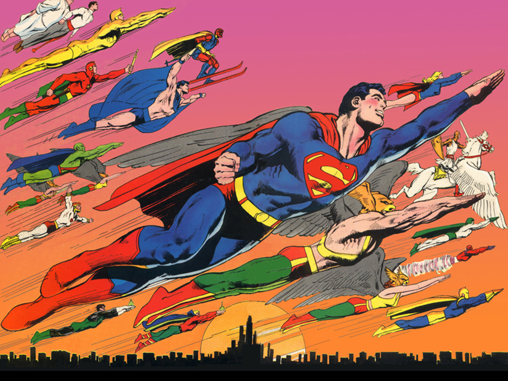 Comics Wallpaper: Neal Adams - DC Heroes