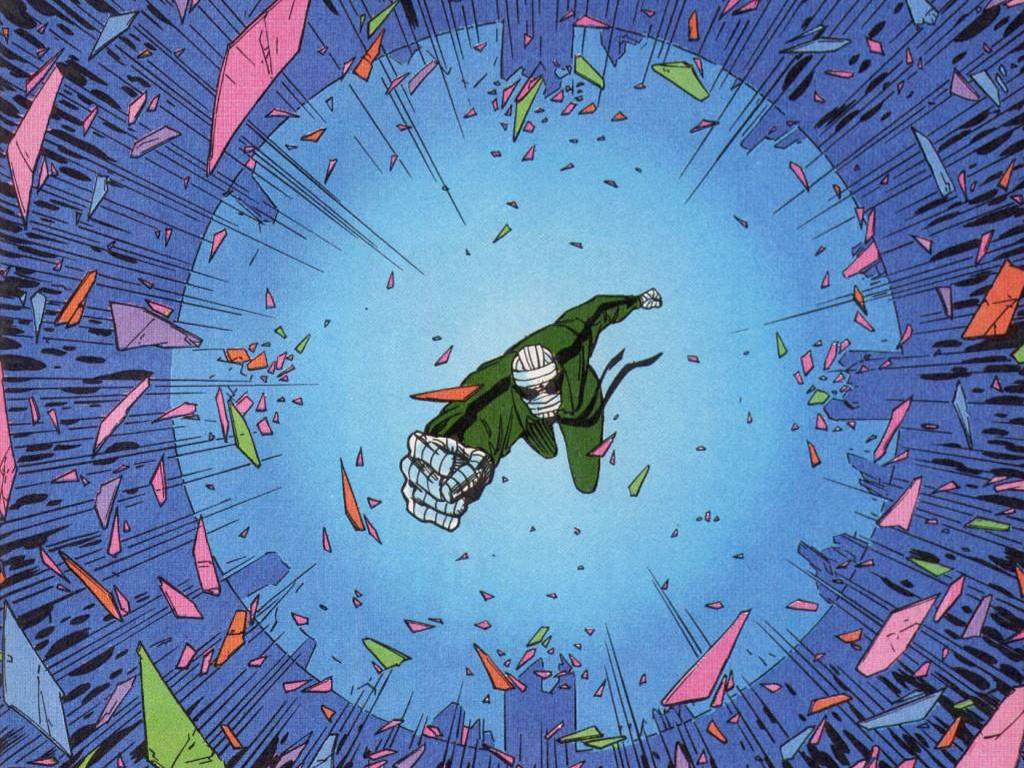 Comics Wallpaper: Negative Man