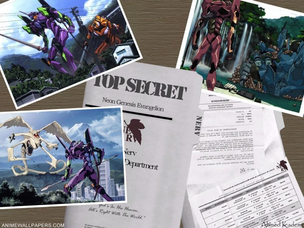 Comics Wallpaper: Neon Genesis Evangelion