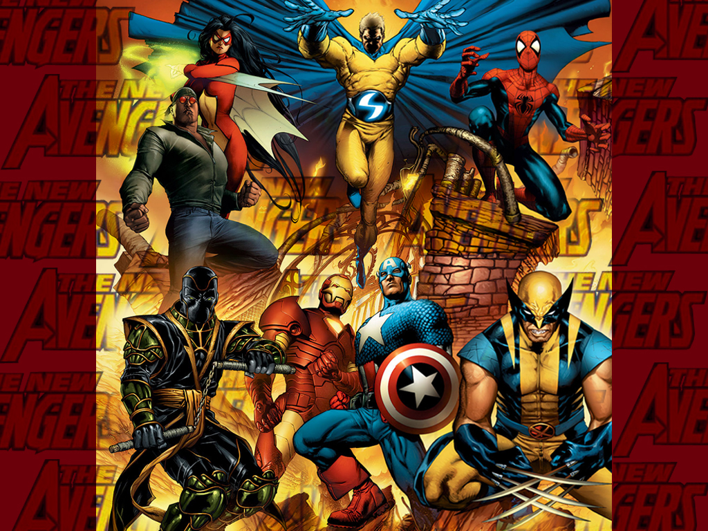 Comics Wallpaper: New Avengers