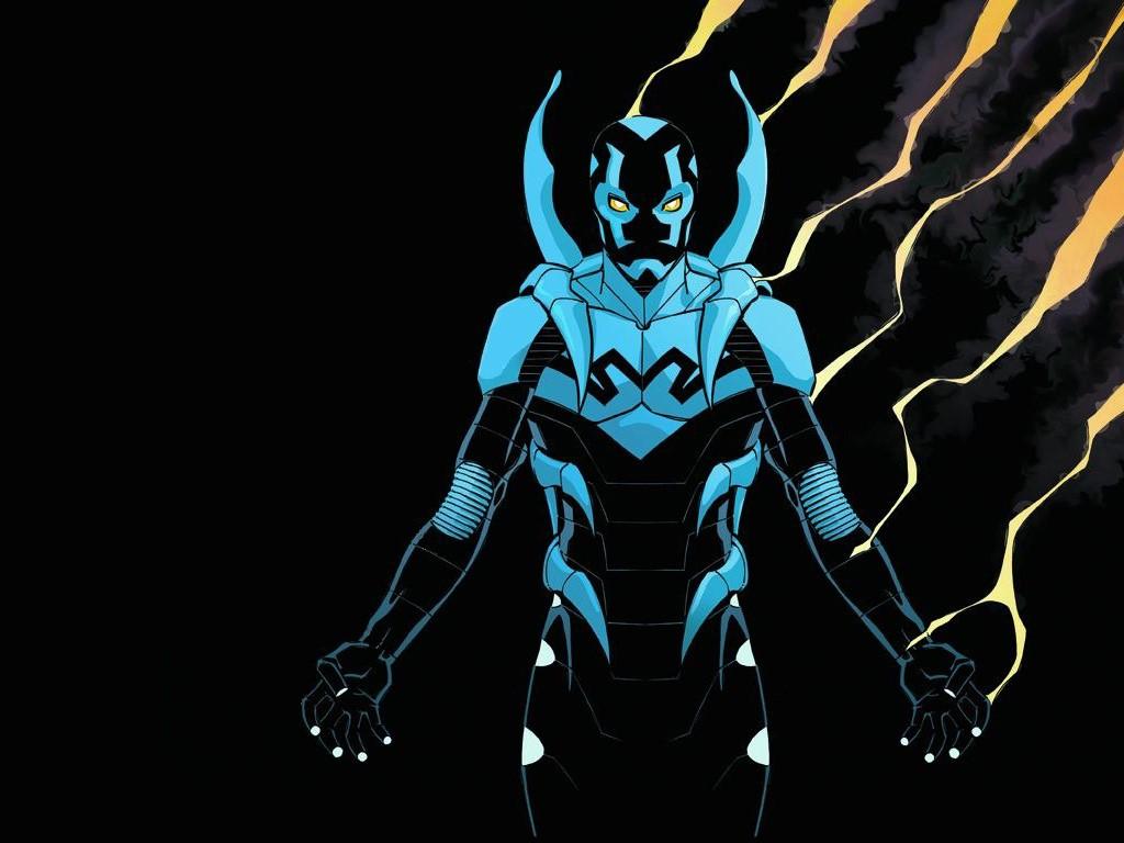 Comics Wallpaper: New Blue Beetle