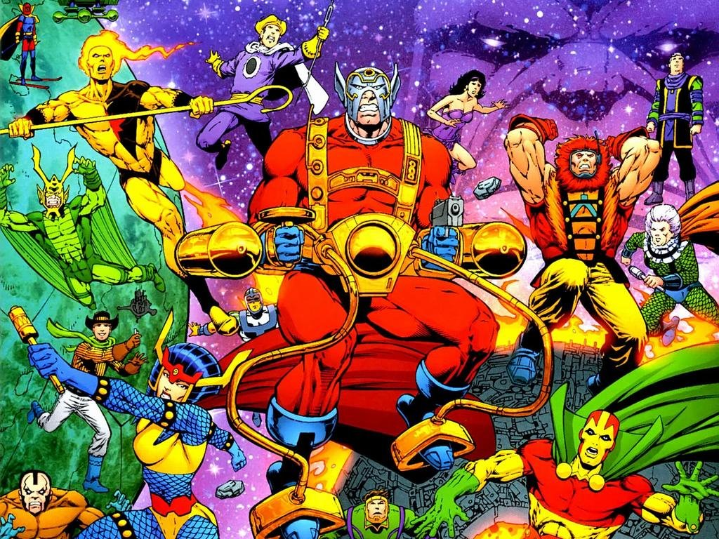 Comics Wallpaper: New Gods