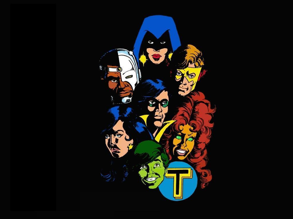 Comics Wallpaper: New Teen Titans (by George Perez)