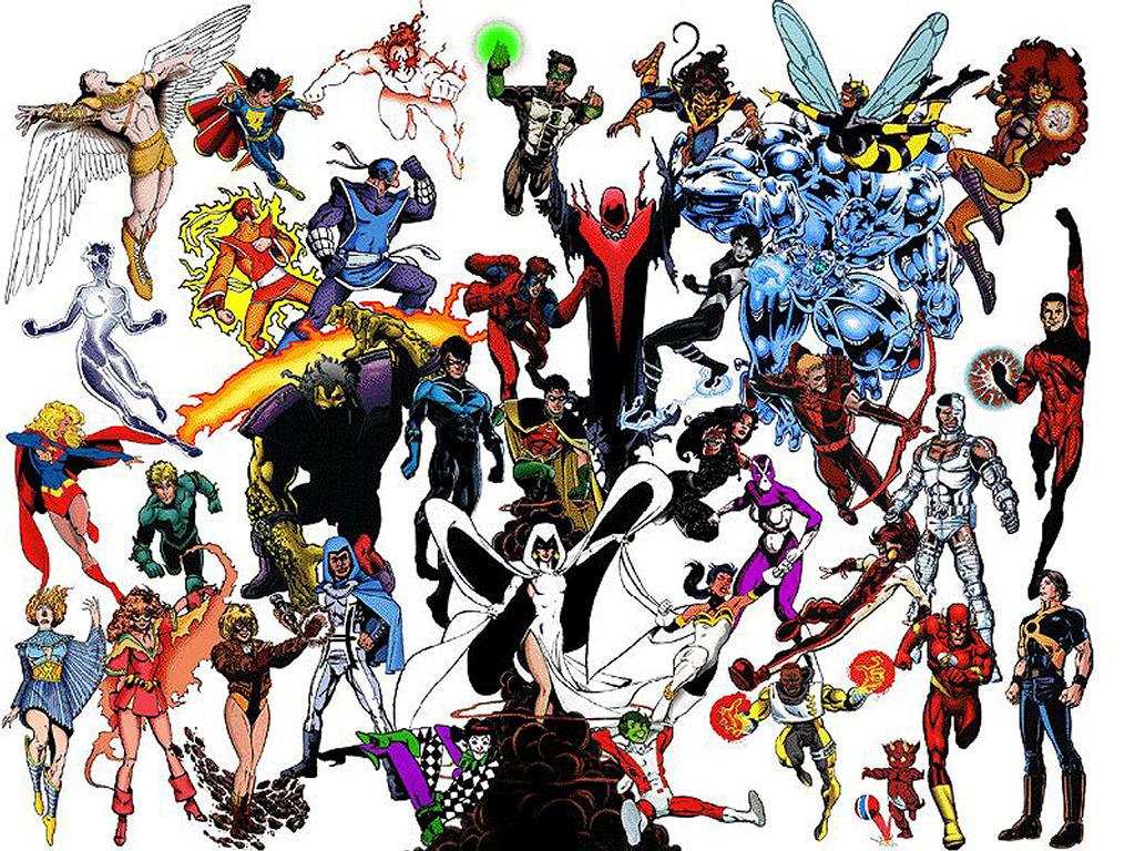 Comics Wallpaper: New Teen Titans - Generations
