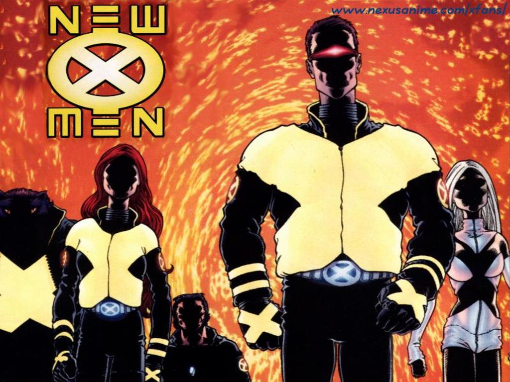 Comics Wallpaper: New X-Men