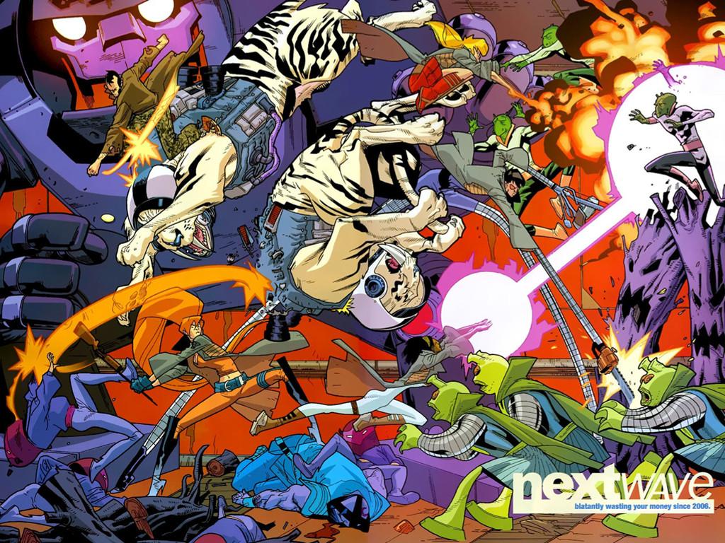 Comics Wallpaper: Nextwave