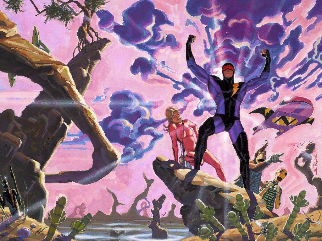 Comics Wallpaper: Nexus