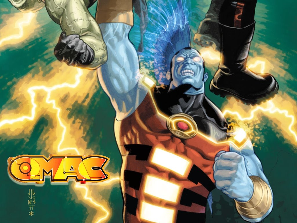 Comics Wallpaper: Omac