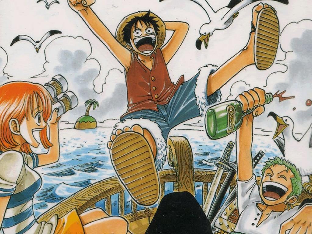 Comics Wallpaper: One Piece