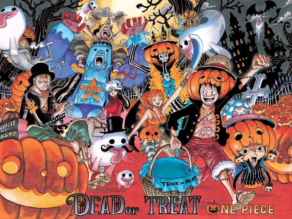 Comics Wallpaper: One Piece - Halloween