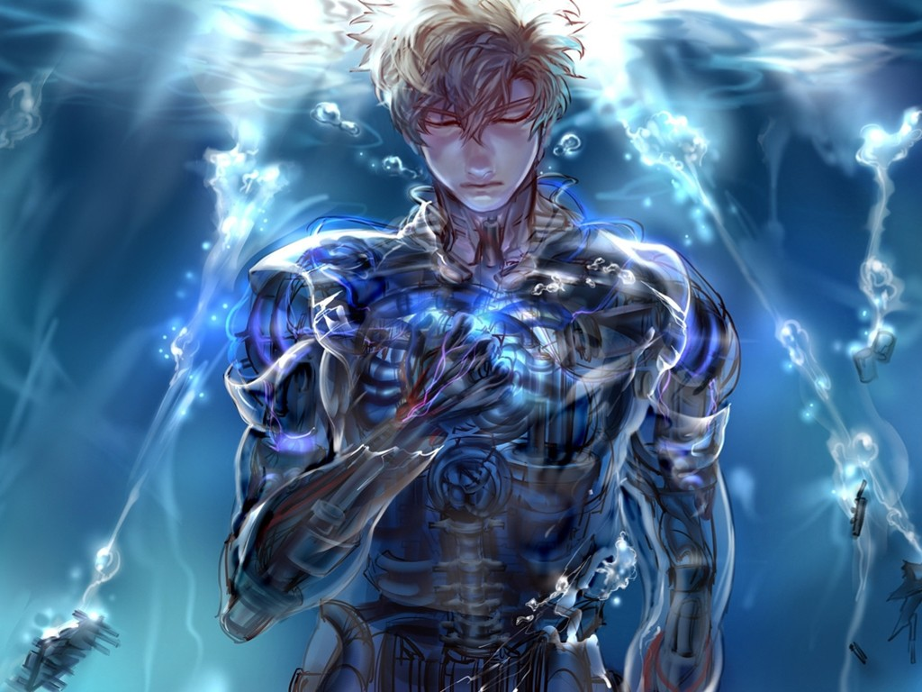 Comics Wallpaper: One Punch Man - Genos