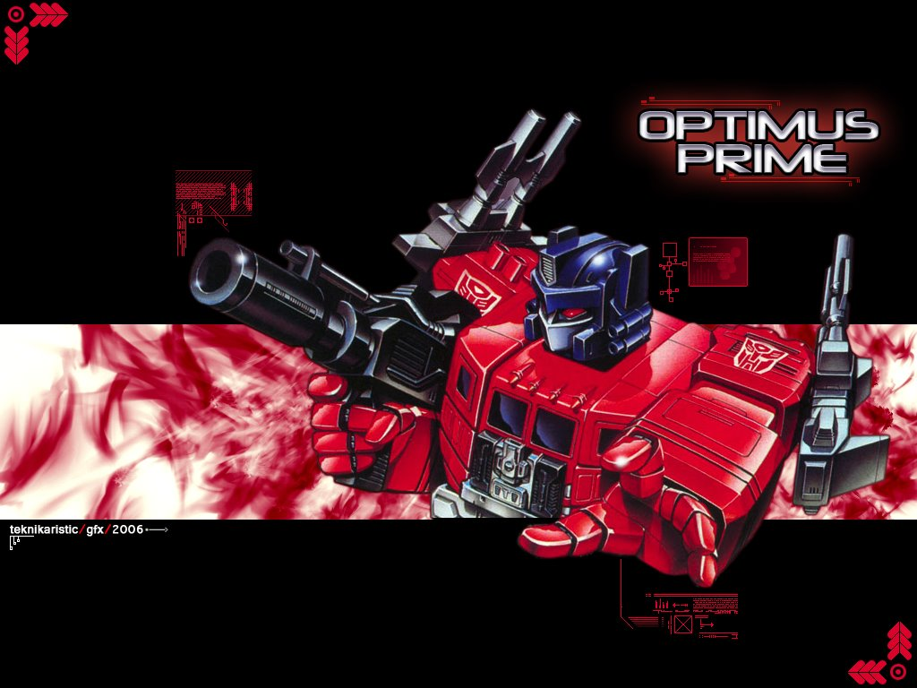 Comics Wallpaper: Optimus Prime